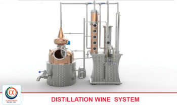 DISTILLATION WINE SYSTEM OF 50 - 1000 LITERS