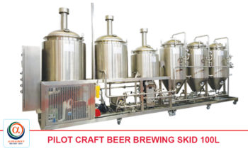 Pilot Craft Beer Brewing Skid