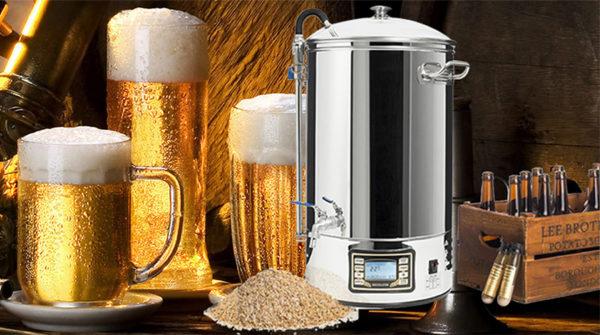 bộ nấu craft beer, bia thủ công