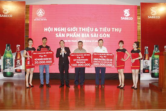Hội nghị giới thiệu và tiêu thụ sản phẩm Bia Sài Gòn