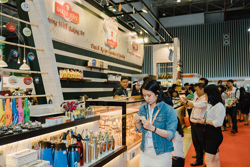 Triển lãm Quốc tế Thực phẩm và Đồ uống 2019 tại Hà Nội.